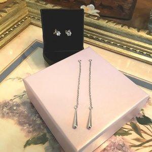 Jewelry - NEW S925 Interchangeable  Earrings